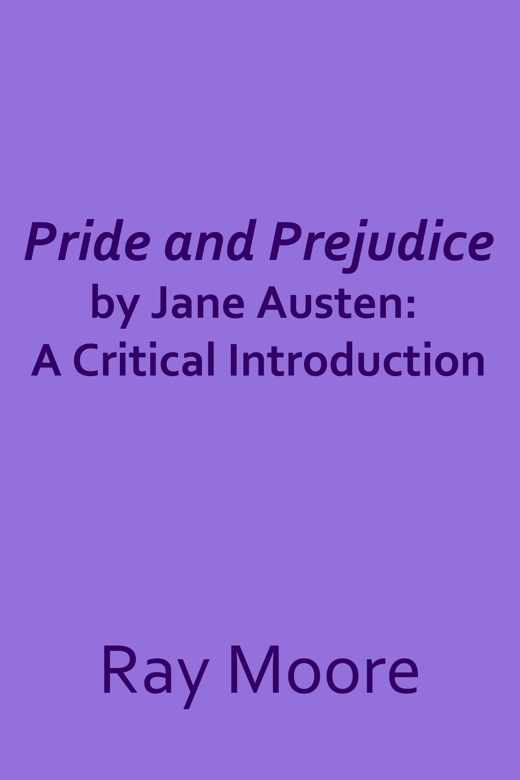 pride and prejudice literary criticism Pride and prejudice is an 1813 romantic novel by jane austen it charts the  emotional  it has become one of the most popular novels in english literature,  with over 20 million copies sold, and paved the  one critic, mary poovey,  wrote the romantic conclusion of pride and prejudice is an attempt to hedge the  conflict.