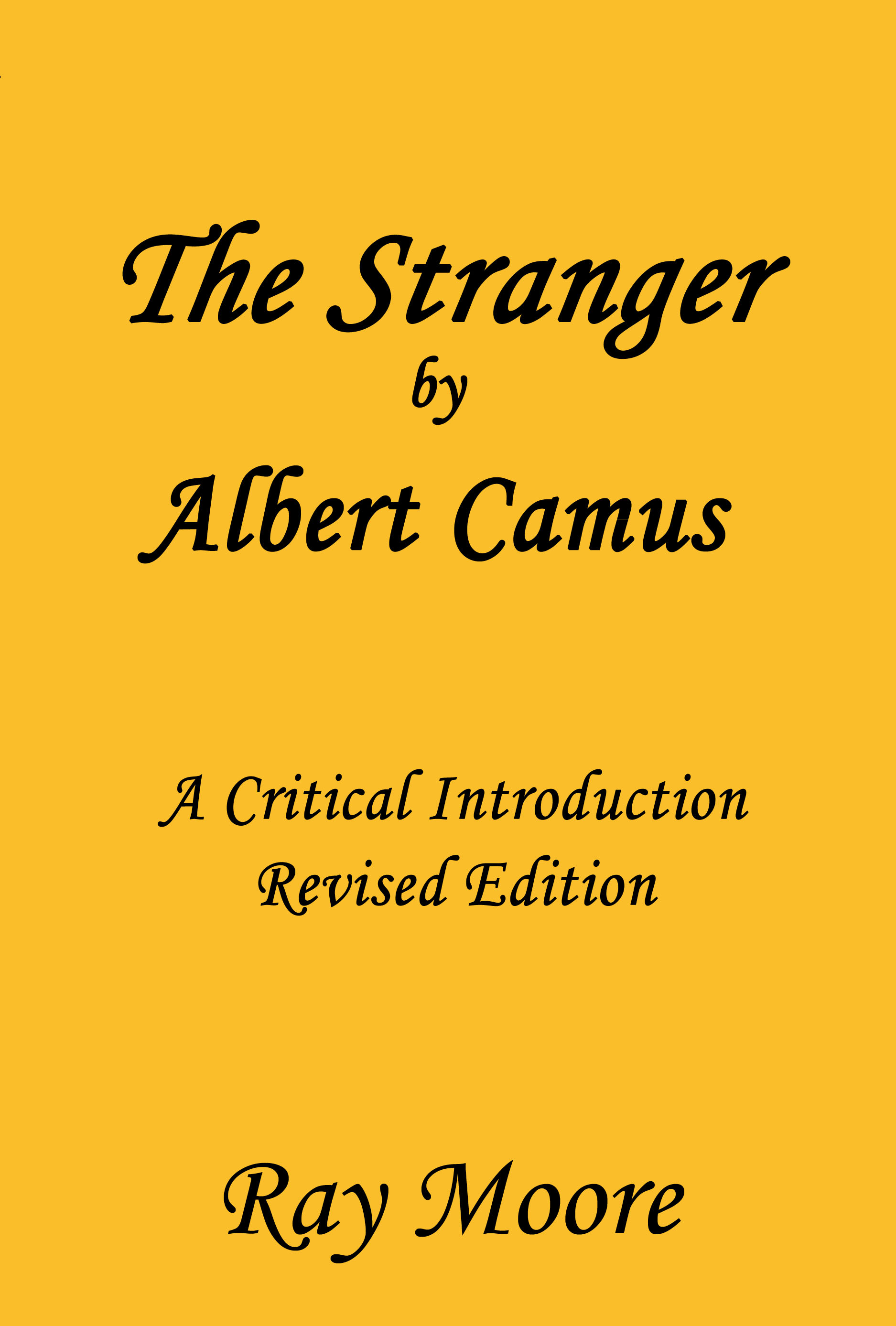 news and updates mystery writer and educational author the stranger critintro 2nd ed front