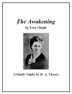a plot overview of kate chopins the awakening Kate chopin was born to a mother of french decent and an irish father the awakening is also a realistic work of literature brief plot summary.